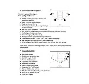 Practice Plan Template by Basketball Practice Plan Template 3 Free Word Pdf