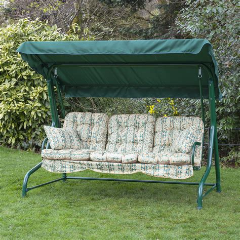 garden swinging seats alfresia luxury garden swing seat cushions 3 seater