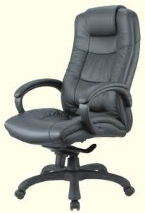 genuine leather high back executive chair office chairs