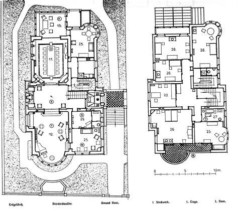 Modern Floor Plans datei k 246 ln villa bestgen architekten wehling und ludwig