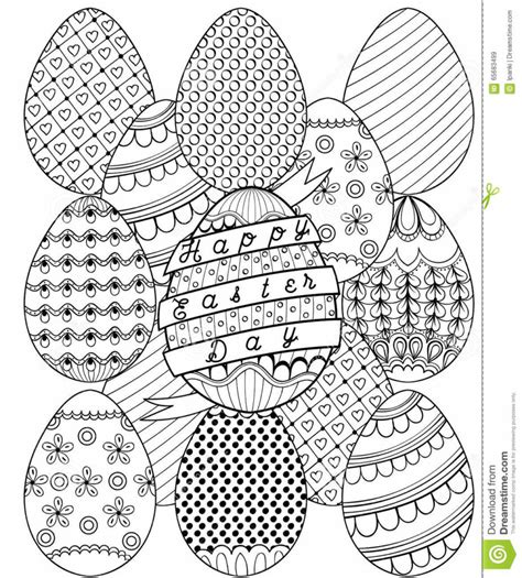 free printable easter coloring pages for adults coloring pages artistic easter eggs pattern