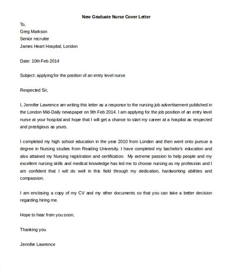 cover letter new graduate free cover letter template 52 free word pdf documents