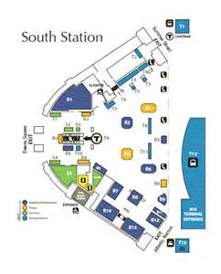 Boston Train Station Map by Beyondwords2 Aula Alami South Station