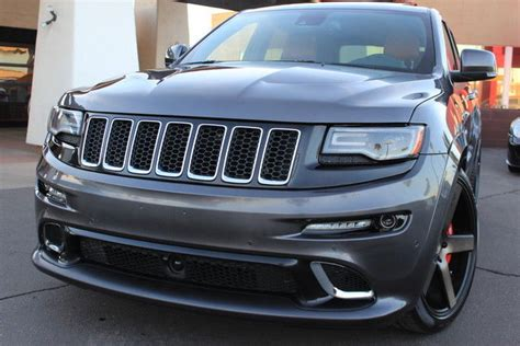 lowered jeep grand cherokee 2014 jeep grand cherokee srt8 super charged lowered