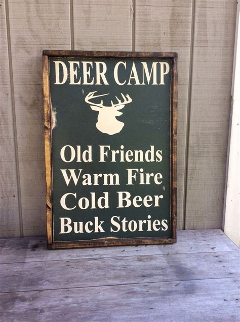 Wood Signs For Cabins by Deer C Wood Sign Sign Cabin By Sophisticatedhilbily
