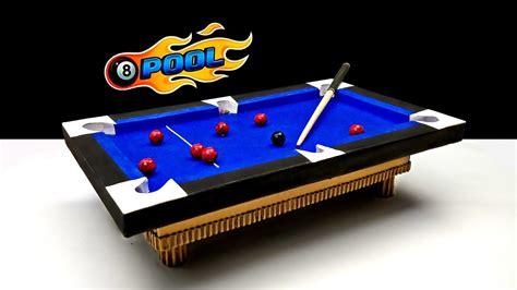 diy mini pool table how to a mini pool table at home set diy