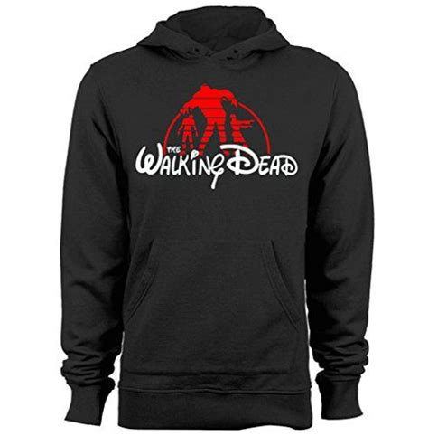 Hoodie New Logo Dp 1 the walking dead disney kingdom logo zombies mens womens
