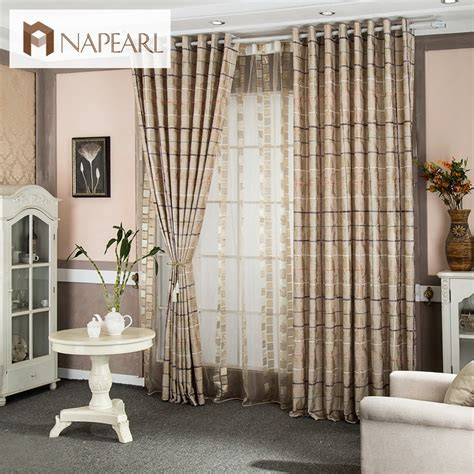 curtains and blinds 4 homes discount code plaid printed design rustic window treatments home textile