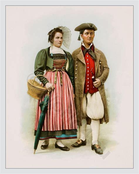 swiss national costumes switzerland pinterest