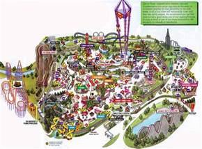 six flags arlington map theme park brochures six flags theme park