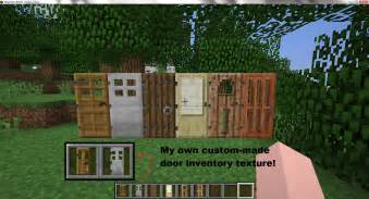How To Make Door In Minecraft by New Doors Coming To Minecraft Plus Own Inventory