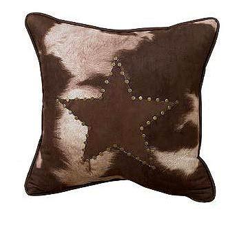 Western Cowhide Pillows - cowhide western pillow