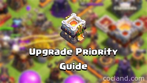 clash of clans upgrade order and priority guide clash of clans town hall 5 upgrade order priority guide