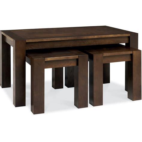 walnut nest of tables albany walnut nest of coffee tables frank mc gowan