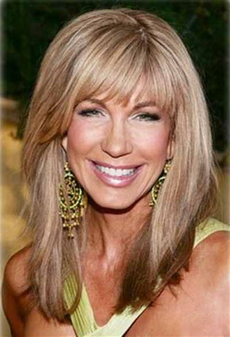 is long layered hair good for square older faces 3 long hairstyles for older women with fine hair