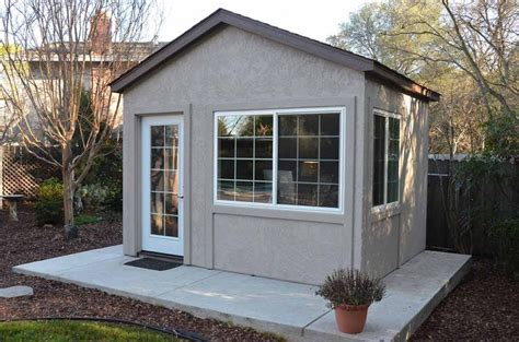 backyard office shed tuff shed down to business with this backyard office