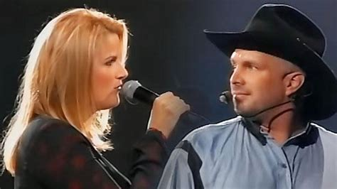 garth brooks and trisha yearwood duet where your road leads video country rebel