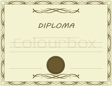 blank diploma templates certificate templates
