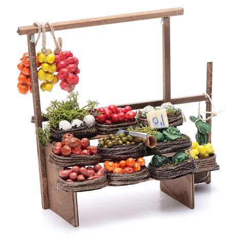 banco frutta banco frutta presepe artigianale napoli vendita
