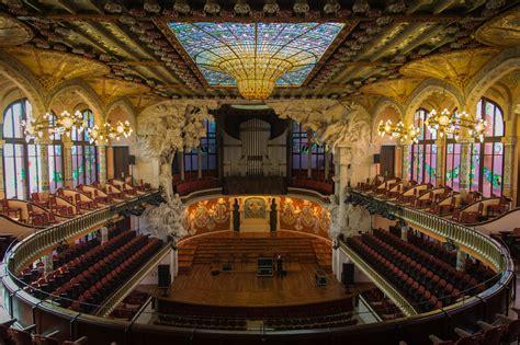 casa della musica barcellona palau de la m 250 sica catalana opera house in barcelona