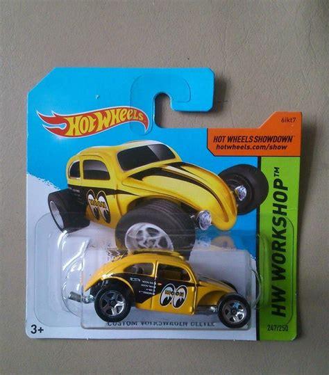Hotwheels Kool Kombi Mooneyes wheels custom volkswagen beetle mooneyes sealed