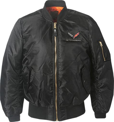 c7 corvette stingray flight jacket chevymall