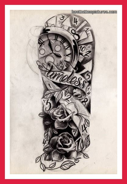 tattoo designs full sleeve in black and grey half sleeve tattoos for black and grey half sleeve