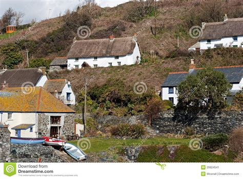 Cadgwith Cove Cottages by Cadgwith Cove Cottages Stock Image Image 29924541