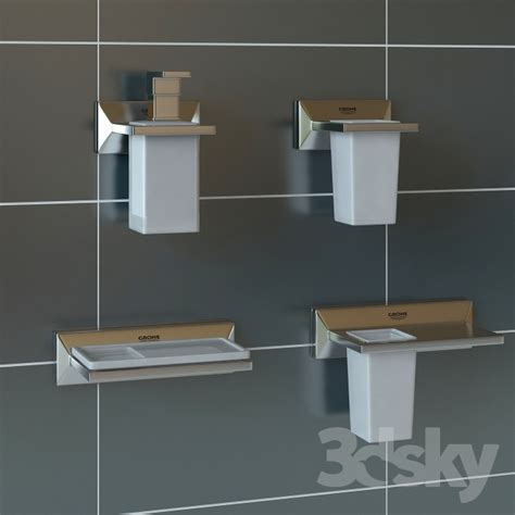 3d models bathroom accessories grohe brilliant