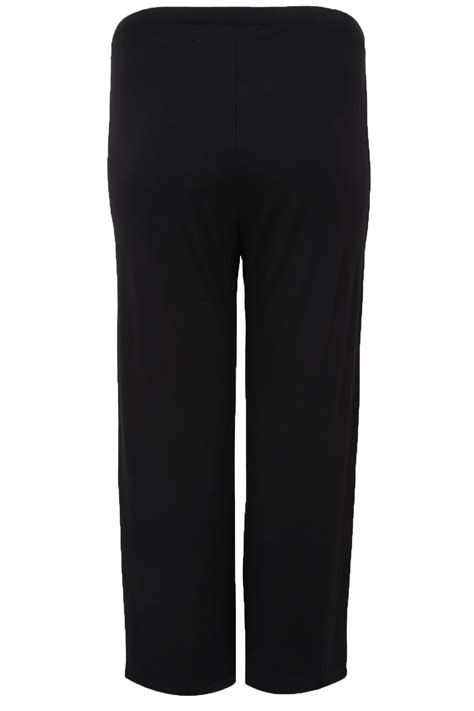 Visa Gift Card Refund Policy - pantalon de yoga en jersey extensible coupe large noir grandes tailles 16 224 36