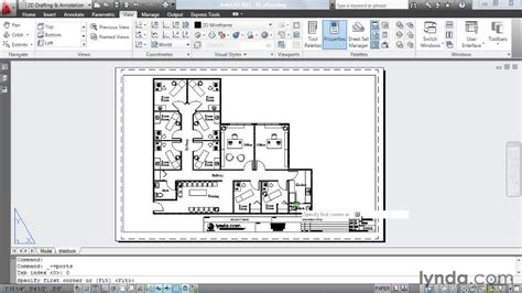 layout autocad viewport accessing viewports within viewports from the course
