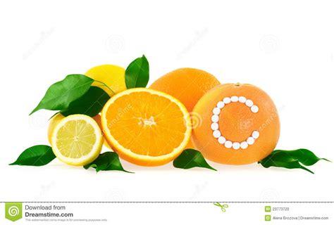 Vitamin Orange Cair orange citron plemousse avec l ove de pillules de
