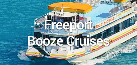 freeport cruise freeport booze cruise