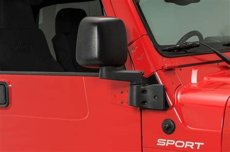 side mirrors for jeep wrangler with doors mirrors without doors jeep wrangler forum