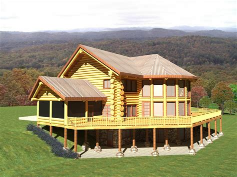 fina log home plan canada log homes worldwide builder