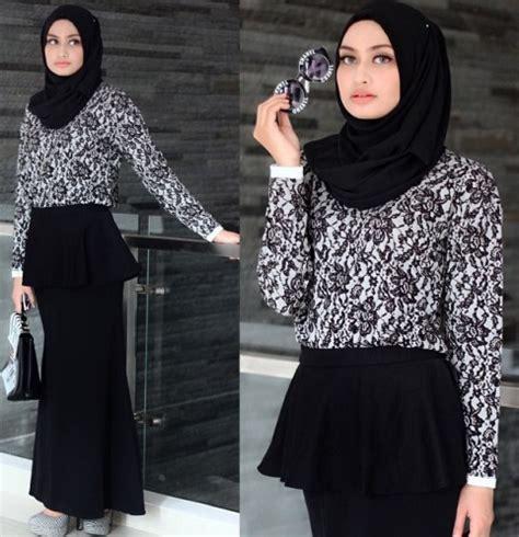 design baju batik untuk hijab ryani s boutique model baju hijab modern batik untuk