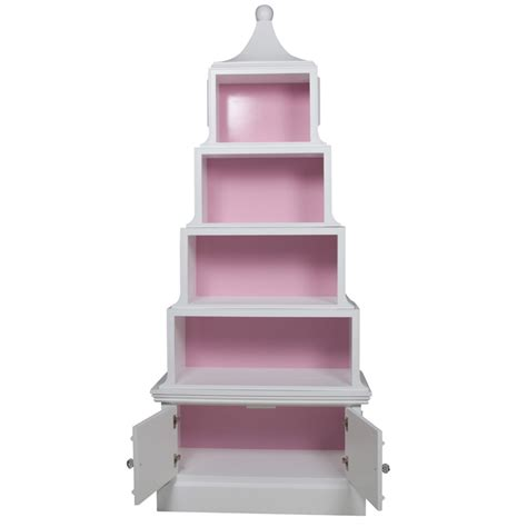 white and gold bookcase pagoda bookcase in antico white and navy and gold gilding