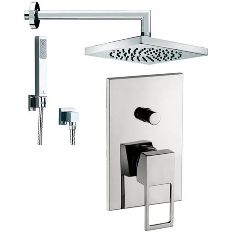 montaggio miscelatore doccia incasso composizione doccia incasso con deviatore effe paffoni