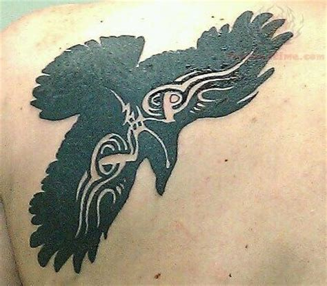 crow tribal tattoo free design software designer