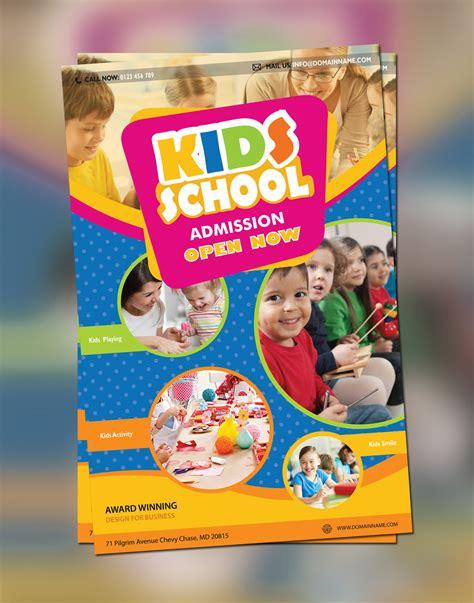 back to school brochure template free beautiful 27 school flyer