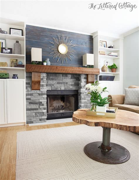 Lettered Cottage Fireplace by The Fireplace Ideas