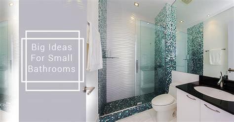 big ideas  small modern bathrooms avonlea