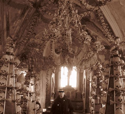 my visit to sedlec ossuary bone church czech republic