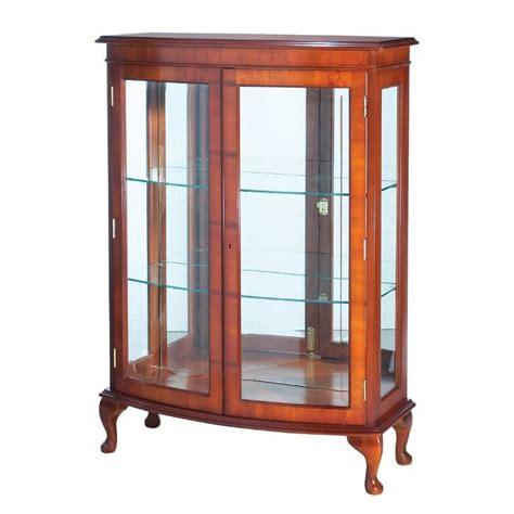 bow china cabinet display cabinets