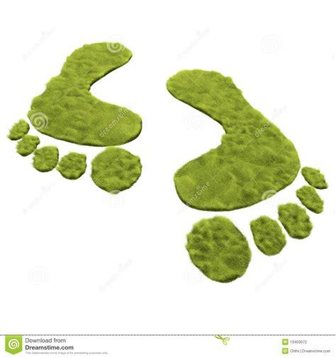 imagenes huellas verdes huellas verdes fotograf 237 a de archivo imagen 13403072