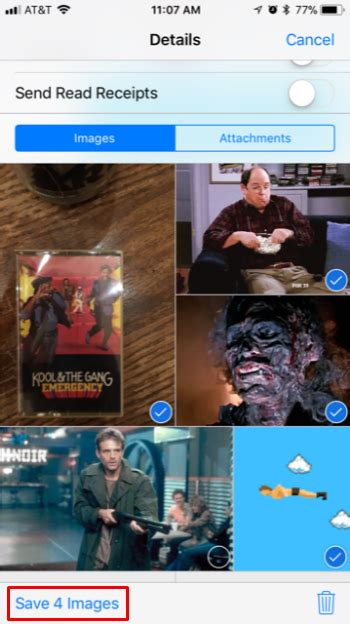 mass save images  messages  iphone faq