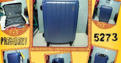 Koper Kanvas President 1521 24 Inch 1 koper fiber president 5273 silver blue tanpa resleting jual tas ransel koper tas sekolah tas
