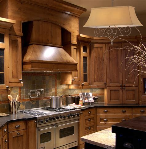 Kitchen Lighting Houzz Two Light Mocha Island Light Rustic Kitchen New York By We Got Lites