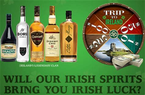Irish Sweepstakes Winners List - castle brands 2015 irish to the core sweepstakes win trip for giveawayus com
