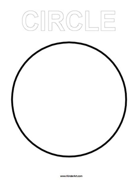 circle coloring pages preschool free shapes coloring pages printable and worksheets to